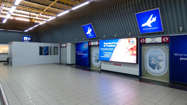 Ankunft Flughafen Kapstadt